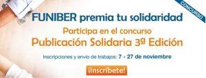 La 3e édition du concours Publication solidaire de FUNIBER commence