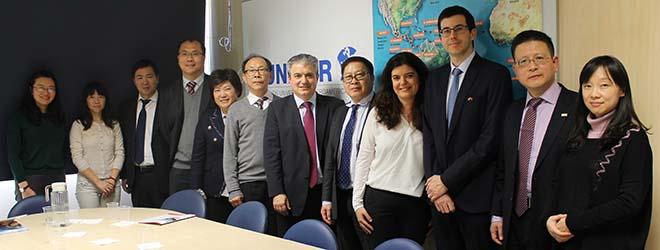 FUNIBER reçoit des représentants de l'Université de Zheijang, l'une des plus prestigieuses de Chine