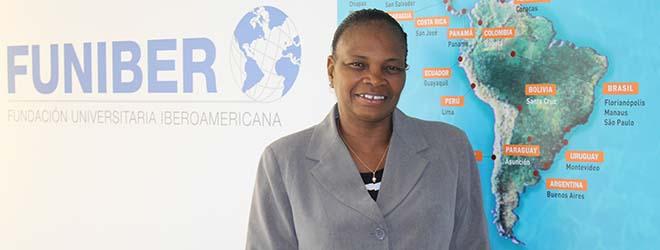 La déléguée de FUNIBER de la République du Mali visite le siège de la Fondation en Espagne